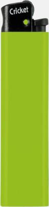 Limegrön Cricket tändare med eget reklamtryck