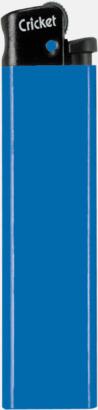 Blå Cricket tändare med eget reklamtryck
