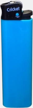Floucerande blå (svart topp) Cricket tändare med eget reklamtryck