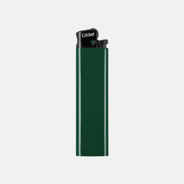 Grön (svart topp) Cricket tändare med eget reklamtryck