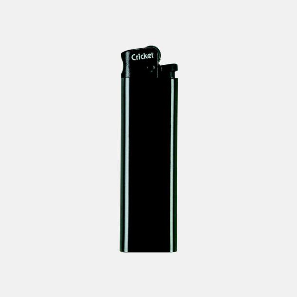 Svart (svart topp) Cricket tändare med eget reklamtryck