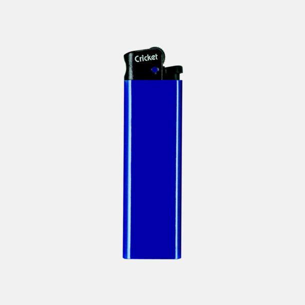 Blå (svart topp) Cricket tändare med eget reklamtryck