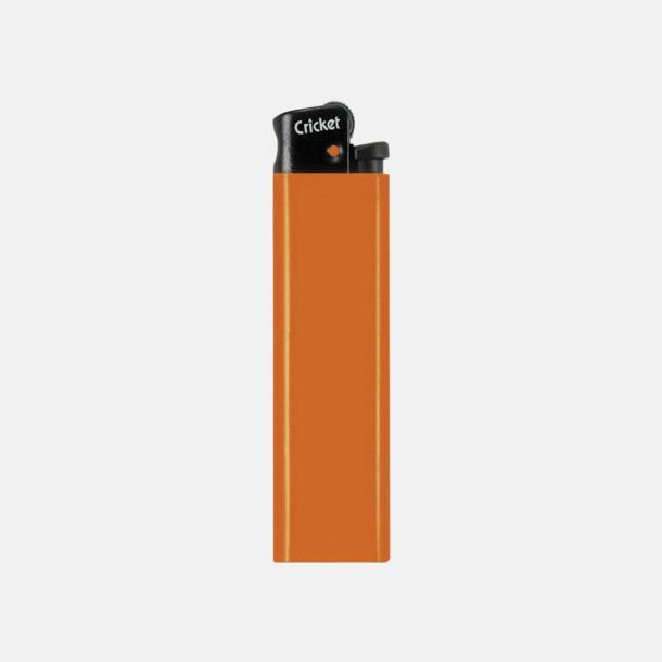 Orange (svart topp) Cricket tändare med eget reklamtryck