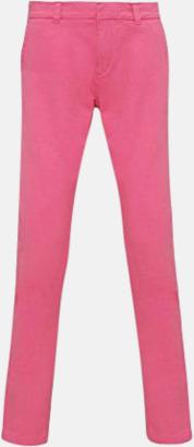 Pink Carnation Dambyxor i många färger med reklamtryck