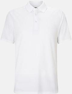 Bright White Kvalitets pikétröjor från Callaway med reklamtryck