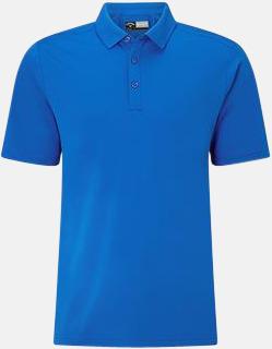 Magnetic Blue Kvalitets pikétröjor från Callaway med reklamtryck
