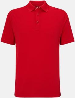 Tango Red Kvalitets pikétröjor från Callaway med reklamtryck