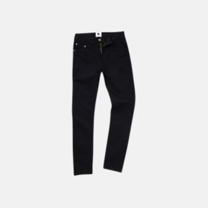 Tighta jeans med reklamlogo