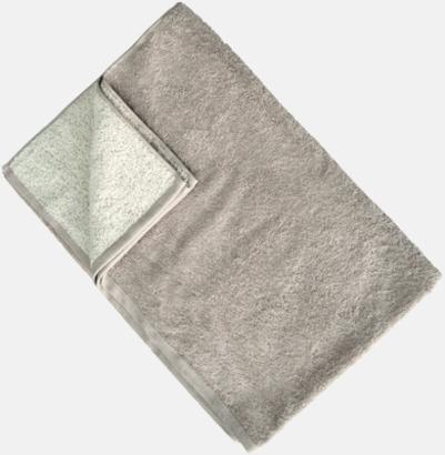 Pristine/Chateau Grey Flerfärgade handdukar med reklamlogo