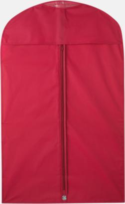Röd Klädesfodral med reklamtryck