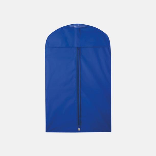 Blå Klädesfodral med reklamtryck