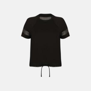 Funktions t-shirts med mesh - med reklamtryck