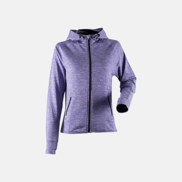 Purple Marl (endast dam) Funktionströjor herr eller dam med reklamtryck