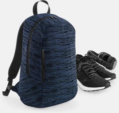 Tvåfärgade ryggsäckar med reklamtryck