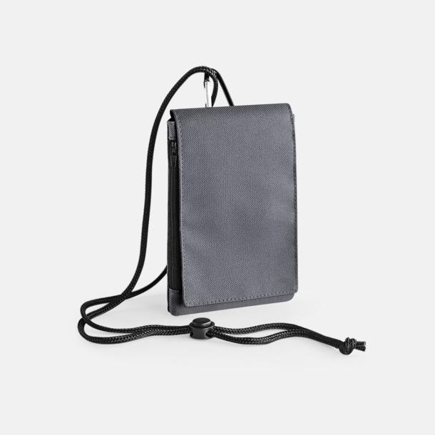 Graphite Grey Rymliga mobilfodral med reklamtryck