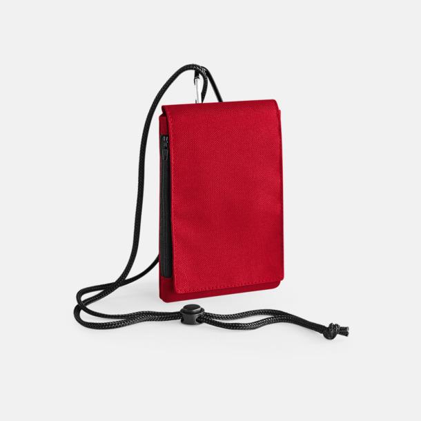 Classic Red Rymliga mobilfodral med reklamtryck