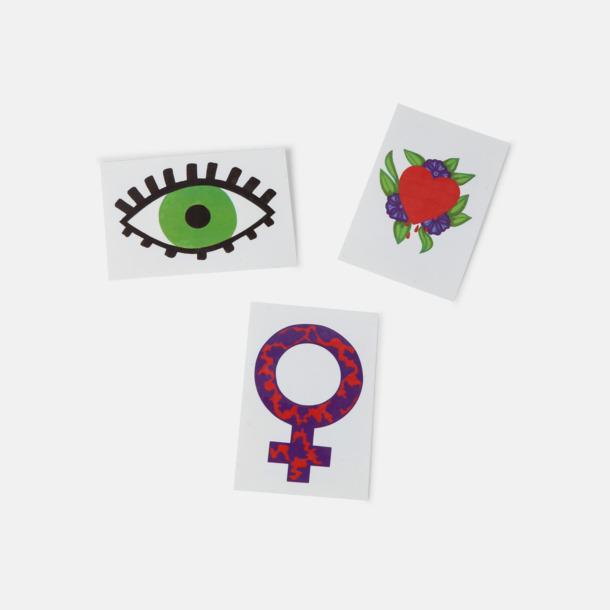Engångstatueringar / Gnuggisar - beställ med egen design!