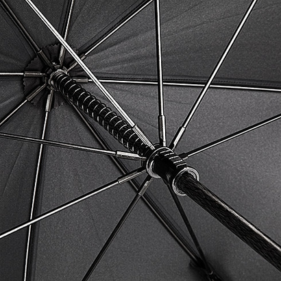 Exklusiva golfparaplyer med reklamtryck