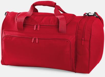 Classic Red Klassiska sportbagar med reklamtryck