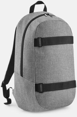 grey Marl Laptop boardpacks med reklamtryck