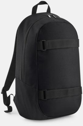 Svart Laptop boardpacks med reklamtryck