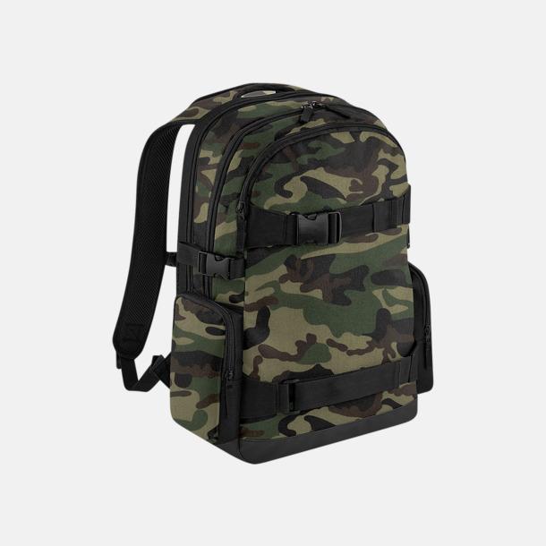 Jungle Camo Trendiga laptopryggsäckar med reklamtryck