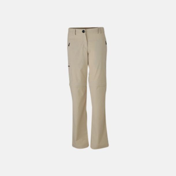 Stone (dam) Korta & långa byxor i ett - med reklamtryck