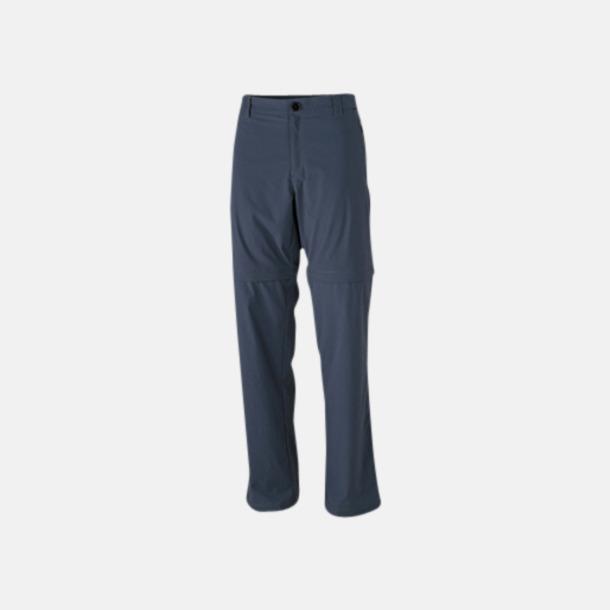 Carbon (herr) Korta & långa byxor i ett - med reklamtryck
