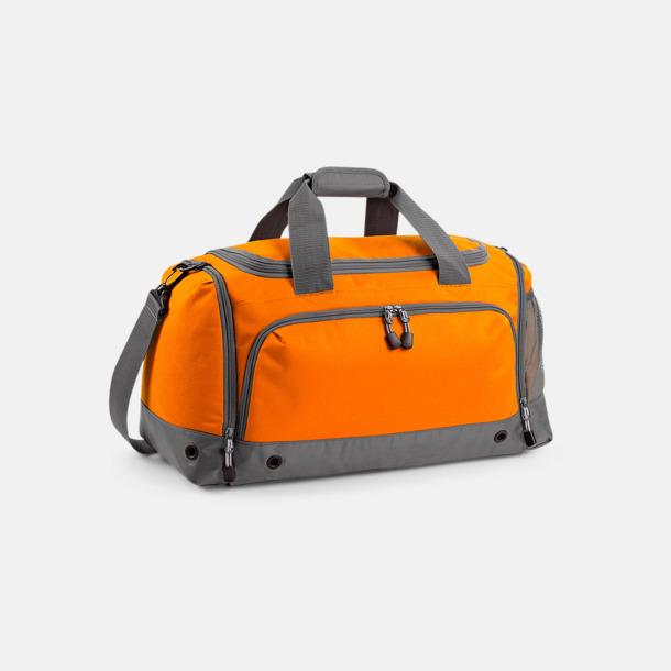 Orange Fina sportväskor med reklamtryck