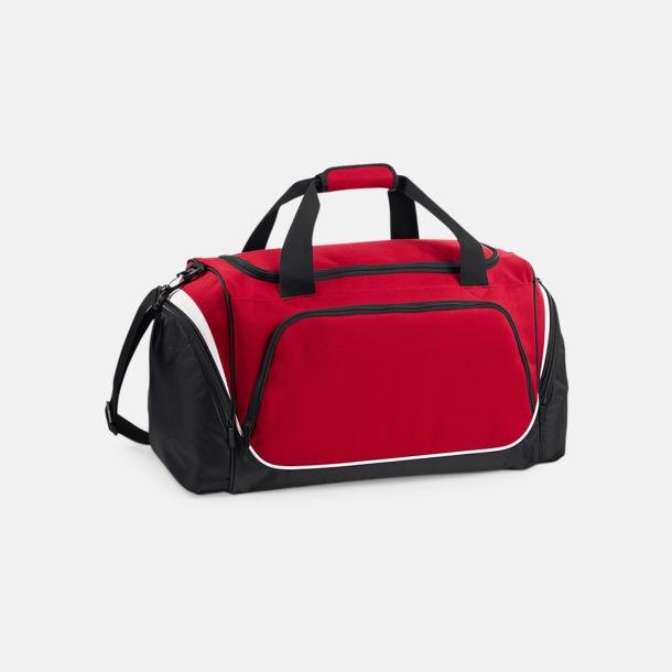 Classic Red/Svart/Vit Extra fina sportbagar med reklamtryck
