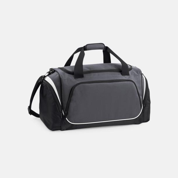 Graphite Grey/Svart/Vit Extra fina sportbagar med reklamtryck