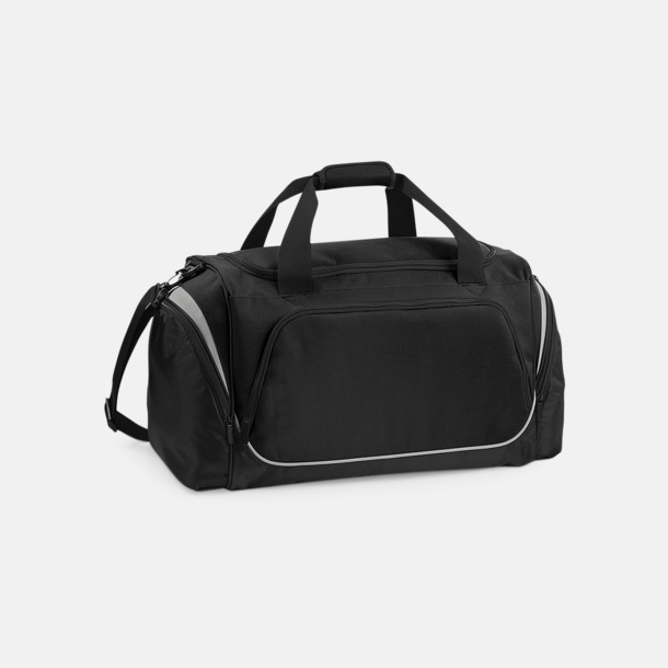 Svart / Ljusgrå Extra fina sportbagar med reklamtryck