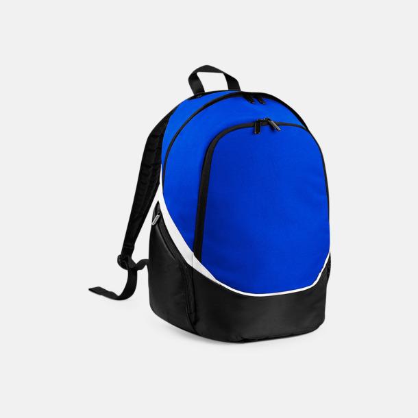 Bright Royal/Svart/Vit Team ryggsäckar med reklamtryck