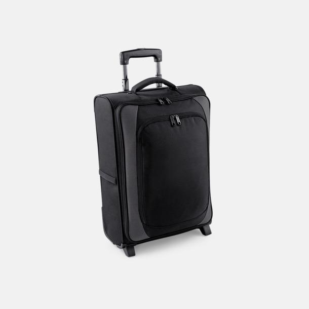 Svart/Dark Graphite Robusta resväskor med reklamlogo