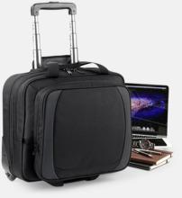 Smidig laptopresväska med reklamtryck