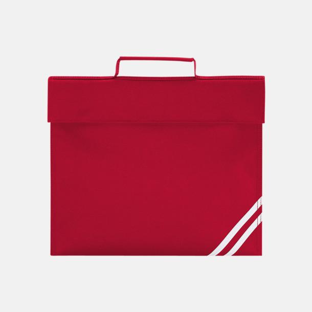 Classic Red Synliga skolväskor med reklamtryck