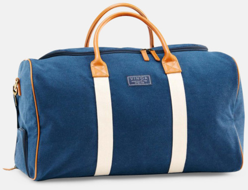 Navy Clifton weekendbag canvasväska med eget reklamtryck