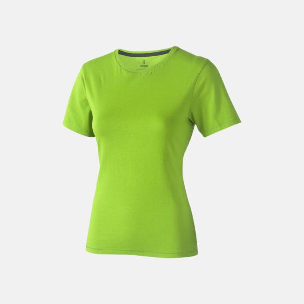 Apple Green (dam) Bekväma t-shirts med reklamtryck