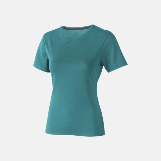Aqua (dam) Bekväma t-shirts med reklamtryck