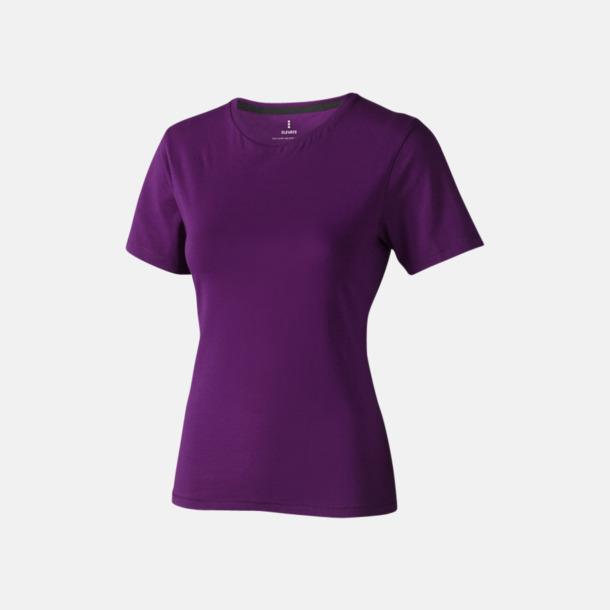 Plum (dam) Bekväma t-shirts med reklamtryck