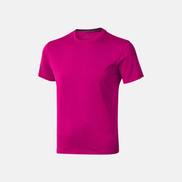 Rosa (herr) Bekväma t-shirts med reklamtryck
