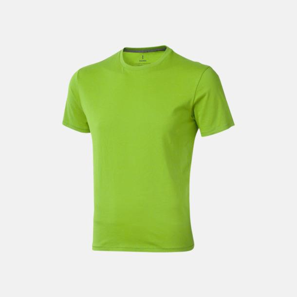 Apple Green (herr) Bekväma t-shirts med reklamtryck