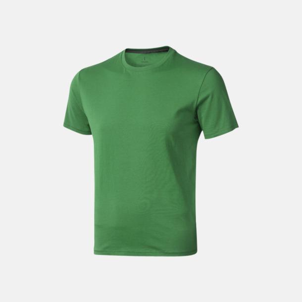 Fern (herr) Bekväma t-shirts med reklamtryck