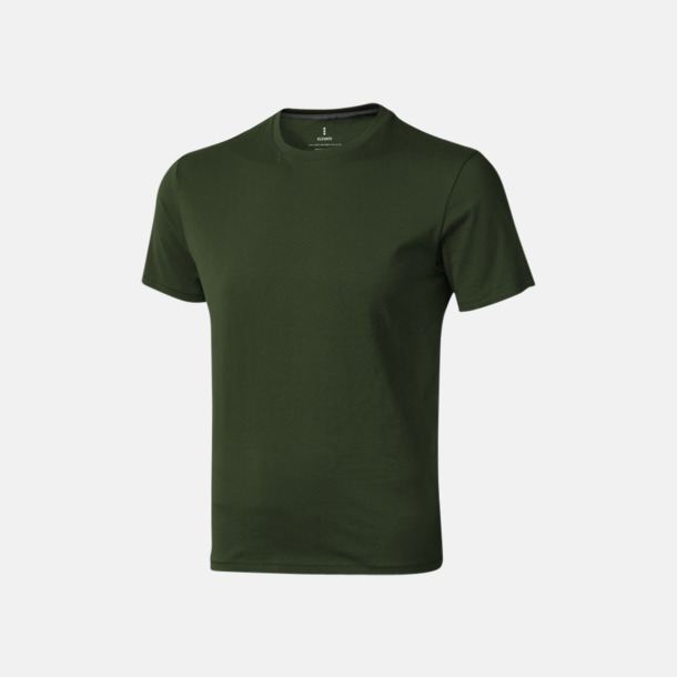 Army (herr) Bekväma t-shirts med reklamtryck