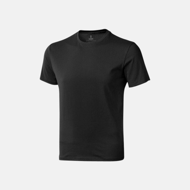 Anthracite (herr) Bekväma t-shirts med reklamtryck