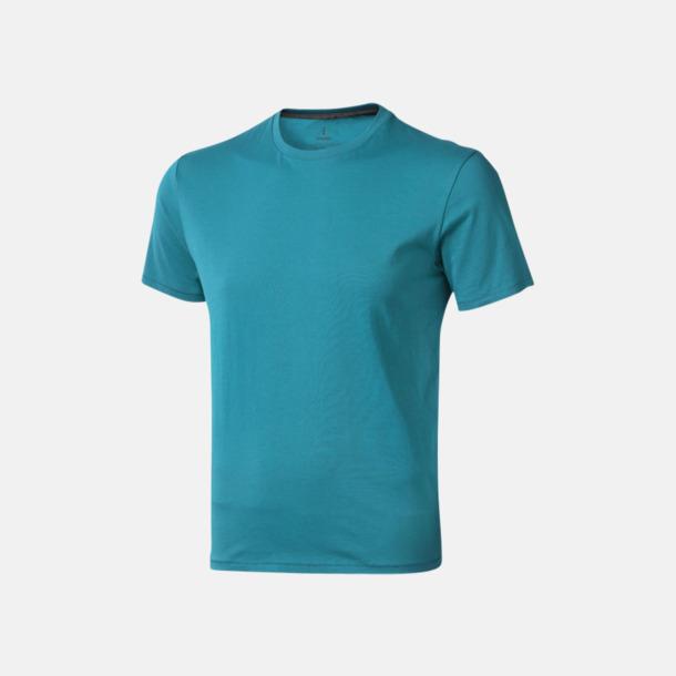 Aqua (herr) Bekväma t-shirts med reklamtryck