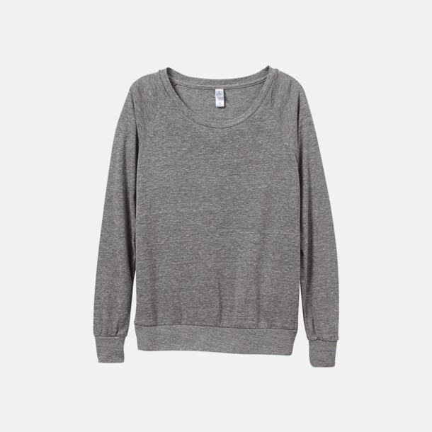 Eco Grey Miljövänliga pullovers med reklamtryck