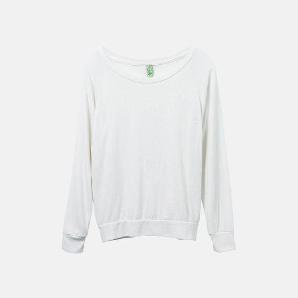 Eco Ivory Miljövänliga pullovers med reklamtryck