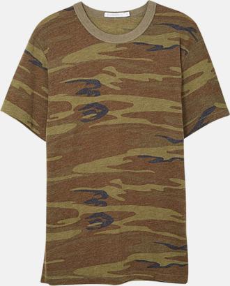 Camo Återvunnet & eko material t-shirts med reklamtryck