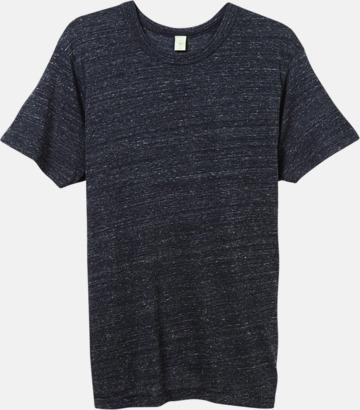 Eco Black Återvunnet & eko material t-shirts med reklamtryck